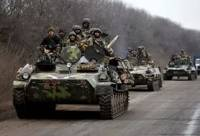 В районе Тельманово формируется сводная тактическая группа боевиков