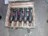 На территории Луганской ТЭС нашли два тайника с минами и гранатометами