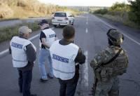 Ситуация с безопасностью на Донбассе остается непредсказуемой /ОБСЕ/