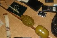 В Закарпатской области в кафе задержали венгра с гранатами