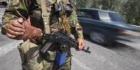 Боевики строят фортификационные сооружения вдоль линии разграничения