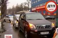 Пьяный сотрудник посольства РФ устроил ДТП в центре Киева