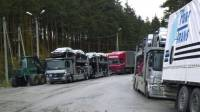 На границе РФ задержаны более тысячи грузовиков с турецкими товарами