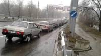 Пока в Крыму громко запускали электрический ручеек, в Донецке разразился очередной топливный кризис