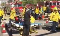 Появилось видео перестрелки в калифорнийском городе Сан-Бернардино