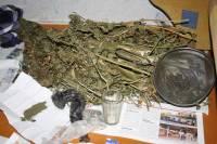 В Кременчуге у местного жителя изъяли весьма внушительный запас марихуаны