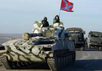 Боевики перебрасывают на передовую танки и артиллерию