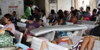 На Филиппины обрушился тайфун с 4-метровыми волнами, эвакуированы сотни тысяч жителей
