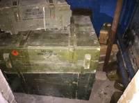 В Луганской области СБУ обнаружила тайник с гранатометами и боеприпасами