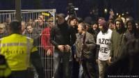 В Нидерландах начались столкновения с полицией