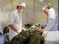 В медучреждениях Минобороны находятся около 130 военных, раненых в зоне АТО