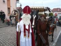 У главного Деда Мороза Франции угнали и оленей, и сани
