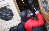 Депутат Соболев угрожал охране Верховной Рады гранатой