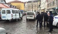 В центре Ужгорода «заминировали» автомобиль