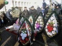 Под стены ВРУ принесли гроб со свиньей, намекая на «смерть для бизнеса»