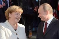 Путин проиграл Меркель в рейтинге AFP