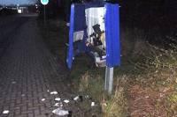 Житель Германии погиб при попытке ограбить автомат с презервативами