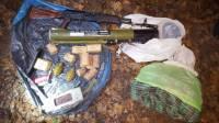 Один из «харьковских партизан» сдался украинским спецслужбам и привел их к тайнику с оружием