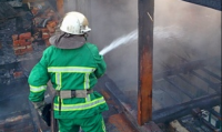 На Тернопольщине горело СТО. Ущерб оценен в кругленькую сумму
