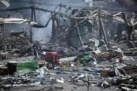 В Китае на химзаводе произошел мощный взрыв