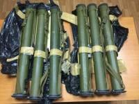 Шесть тайников с оружием найдены на границе Днепропетровщины с Донетчиной