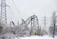 Непогода оставила без света почти 300 населенных пунктов по всей Украине