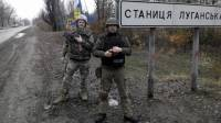 В Станице Луганской на блокпосту подорвался украинский военный