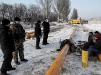 Боевики не дают провести газ в Марьинку, обстреливая работников газовой службы