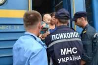 ГСЧС зарегистрировала более миллиона переселенцев из зоны АТО и Крыма
