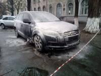 В Киеве подорвали автомобиль известного адвоката, защищающего подозреваемых в убийстве Бузины