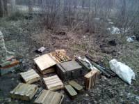 Житель Авдеевки, пойманный на горячем, показал полицейским арсенал террористов
