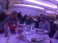 Тимошенко и Герман обнялись как сестры на молитвенном завтраке в Вашингтоне