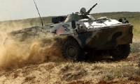 В оккупированном Крыму заметили колонну российской военной техники