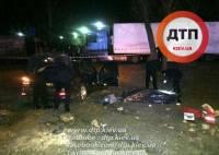В Киеве полицейские открыли огонь по авто-нарушителю, погиб пассажир