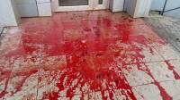 Киевляне на Шулявке залили «кровью» отделение «Сбербанка России»