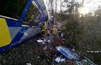 Крушение поездов в Германии. Фото с места событий