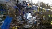 Украинцы не пострадали при крушении поездов в Германии