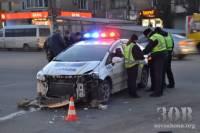Очередное ДТП с участием полицейского патруля произошло в Днепропетровске