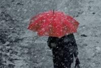 На Украину движутся осадки разной интенсивности и штормовой ветер