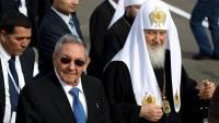 Патриарх Кирилл встретился на Кубе с Раулем Кастро