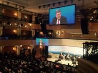 Порошенко предлагает инвесторам предпочесть украинскую ГТС «Северному потоку-2»