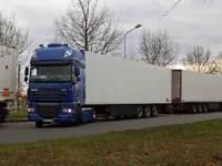 Россия официально запретила движение украинских грузовиков по своей территории