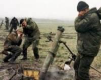 Боевики на Донбассе случайно обстреляли свои же позиции