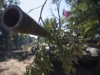 В некоторых районах Донбасса затаились вражеские танки, артустановки и «Грады» /разведка/