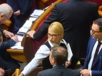 Тимошенко призывает украинцев не допустить никаких революционных и повстанческих действий