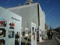 Киев готовится к годовщине Революции достоинства масштабными фотоинсталляциями
