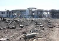 Донецкий аэропорт подвергся массированному обстрелу