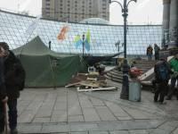 На Майдане осталась одна палатка и полтора десятка протестующих