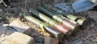 На Донбассе нашли тайник с противотанковыми ракетами