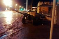 Отстреляв салют в центре Волгограда, военные забыли... пушку